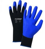 West Chester 713SPA-2X Air Injected PVC Palm Coated Nylon Gloves- Blue/Black